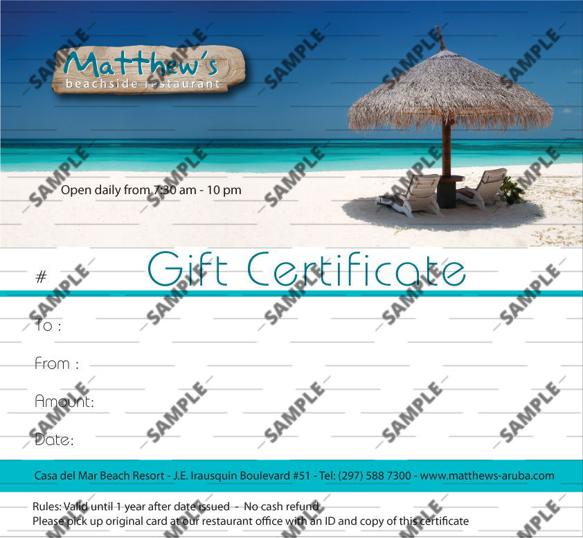vacation gift certificate template 36 ideas gift certificates