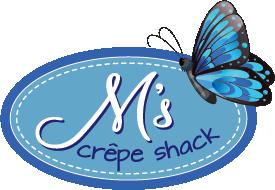M's Crepe Shack logo